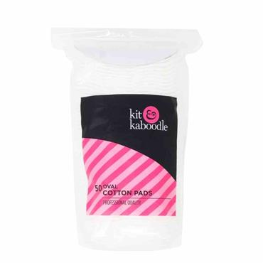 Kit & Kaboodle Oval Cotton Pads 50 Pack