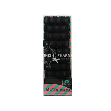 Kit & Kaboodle Black Velcro Rollers Small 8 Pack