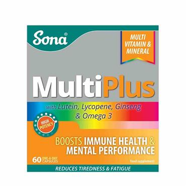 Sona Multiplus One a Day 60 Capsules