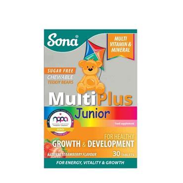 Sona MultiPlus Junior Chewable 30 Tablets