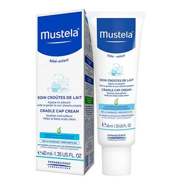 Mustela Baby Cradle Cap Cream 40ml