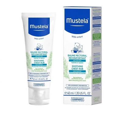 Mustela Baby Soothing Chest Rub 40ml