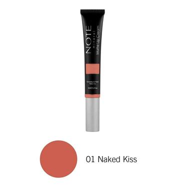 NOTE Mineral Matte Lip Cream 01 Naked Kiss