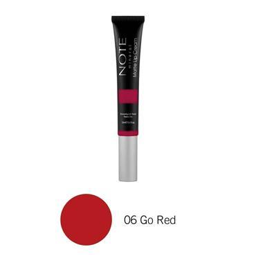 NOTE Mineral Matte Lip Cream 06 Go Red