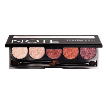 NOTE Professional Eyeshadow 107 Metallic Rose
