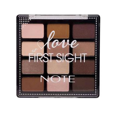 NOTE Love at First Sight Eyeshadow Palette Daily Routine