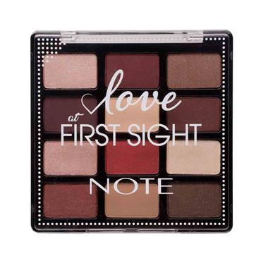 NOTE Love at First Sight Eyeshadow Palette Instant Lovers