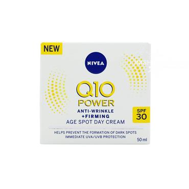 Nivea Q10 Power Anti-Wrinkle + Firming Age Spot Day Cream 50ml
