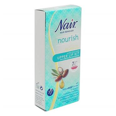 Nair Hair Remover Nourish Upper Lip Kit 2 X 20ml