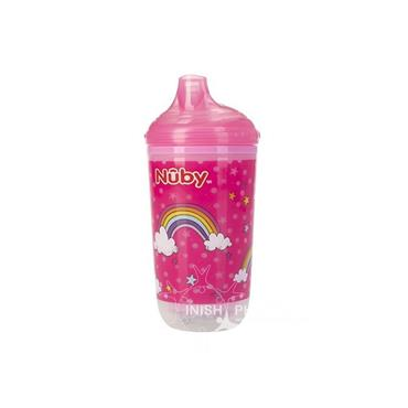 Nuby Active Cup Boogie Lights Pink 12mths+