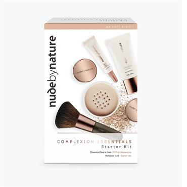 Nude By Nature Complexion Essentials Starter Kit W4 Soft Sand