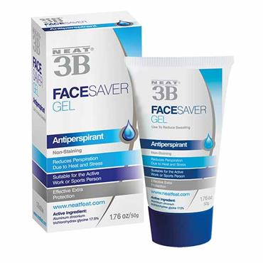 Neat 3B Face Saver Facial Anti-Perpirant Gel 50g