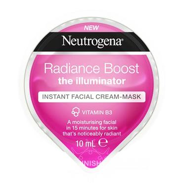 Neutrogena Radiance Boost The Illuminator Instant Facial Cream Mask 10ml