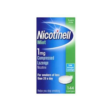 Nicotinell 1mg Mint Lozenge 144 Pack