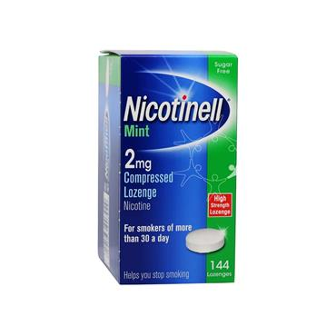 Nicotinell 2mg Mint Lozenge 144 Pack