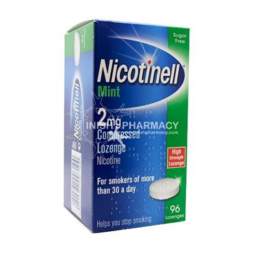 Nicotinell 2mg Mint Lozenge 96 Pack