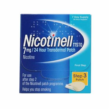 Nicotinell 7mg Step 3 Patch - 7  Pack