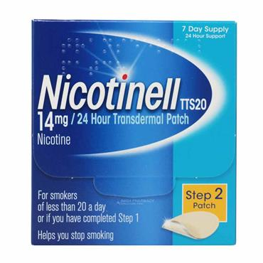 Nicotinell 14mg Step 2 Patch - 7  Pack