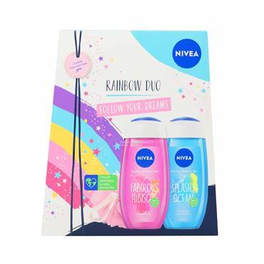Nivea Rainbow Moments Fresh Skin Duo 3 Piece Gift Set