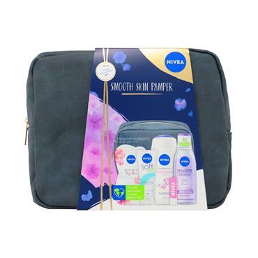 Nivea Smooth Skin Pamper 6 Piece Gift Set