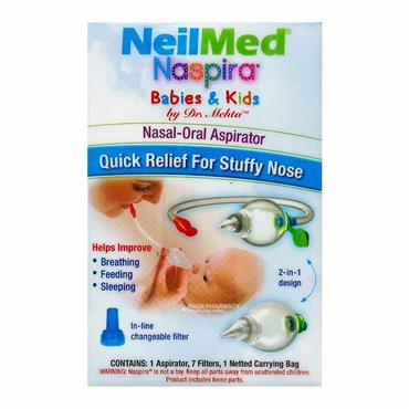 NeilMed Naspira Baby & Kids Nasal-Oral Aspirator