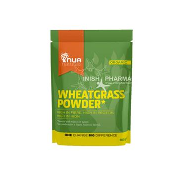 NUA Naturals Organic Wheatgrass Powder 185g