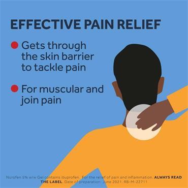Nurofen 5% Ibuprofen Pain Relieving Gel 30g