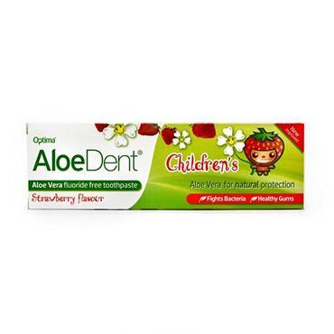 Optima AloeDent Children's Strawberry Flavour Toothpaste 50ml