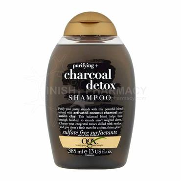 OGX Charcoal Detox Shampoo 385ml