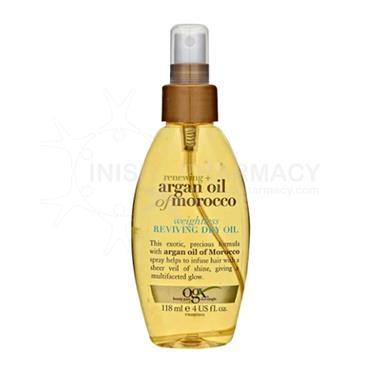 OGX Argan Oil Weightless Reviving Dry Oil 118ml