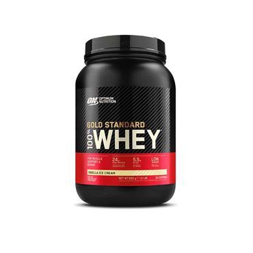 Optimum Nutrition Gold Standard 100% Whey Vanilla Ice Cream 900g