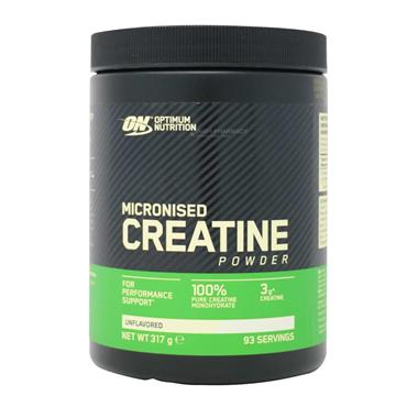 Optimum Nutrition Micronised Creatine Powder Unflavoured 93 Servings 317g