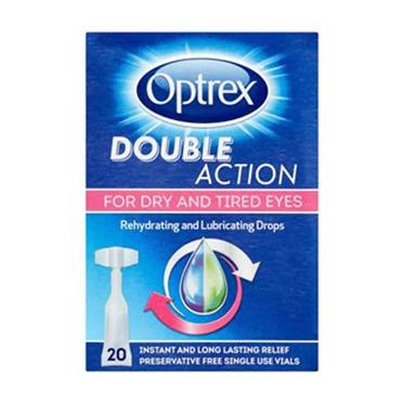 Optrex Double Action Drops For Dry & Tired Eyes 20 X 0.5ml