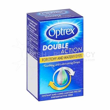 Optrex Double Action Drops for Itchy & Watery Eyes 10ml