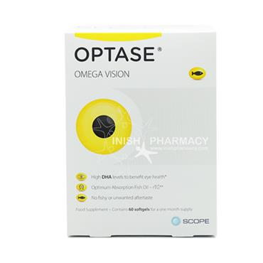 Optase Omega Vision Softgels 60 Pack