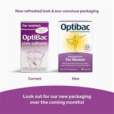 OptiBac Probiotics For Women 30 Capsules