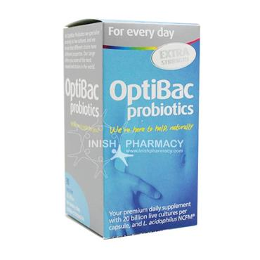 OptiBac Probiotics For Every Day Extra Strength 90 Capsules