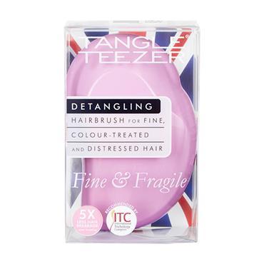 Tangle Teezer Fine & Fragile Detangling Hairbrush Pink Dusk