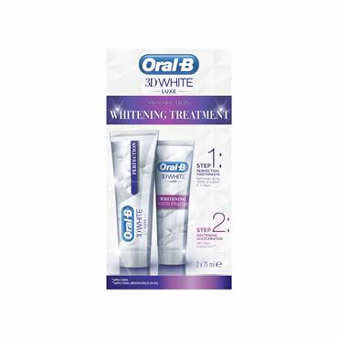 Oral B 3D White Luxe Whitening Treatment Kit