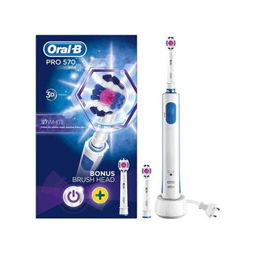 Oral B Pro 570 3D White Electric Toothbrush