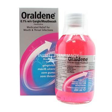 Oraldene Mouthwash Original 200ml