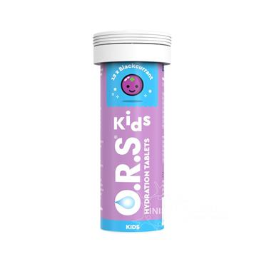O.R.S. Kids Hydration Tablets - Blackcurrant - 12 tablets