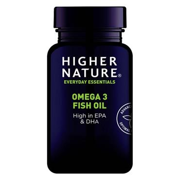 Higher Nature Omega-3 Fish Oil 1000mg Capsules