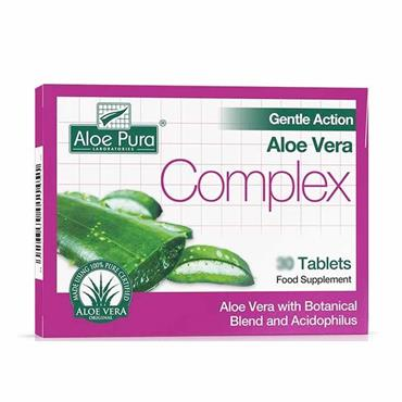 Aloe Pura Gentle Action Aloe Vera Complex Tablets