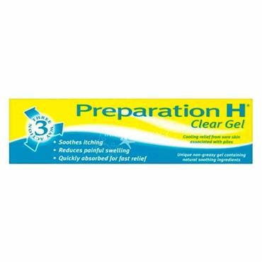 Preparation H Clear Gel
