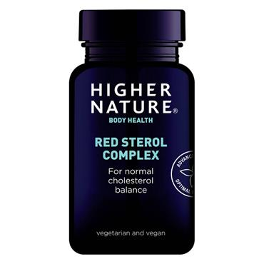 Higher Nature Red Sterol Complex For Cholesterol Control