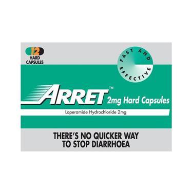 Arret Loperamide 2mg Capsules