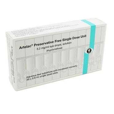 Artelac Hypromellose Preservative Free SDU Eye Drops