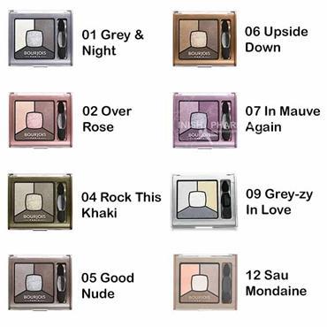 Bourjois Smoky Stories Quad Eyeshadow