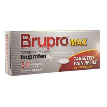 Brupro Max Ibuprofen 400mg Tablets